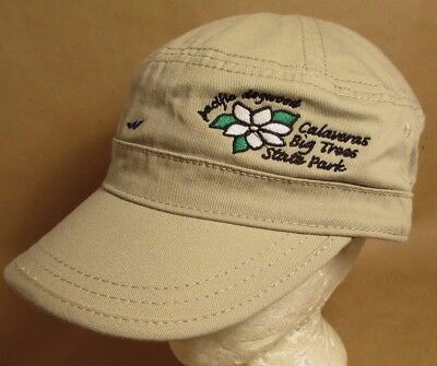 Calaveras Big Tree State Park Hat Cap Cadet Style California USA Unisex New