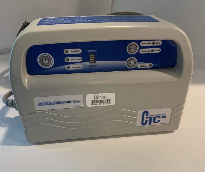 Vasopress Supreme Mini DVT Pump - Vaso Press - VP500DM