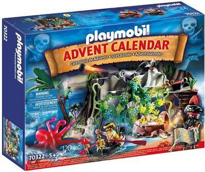 Playmobil 70322 Advent Calendar Pirates Playset