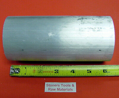 2-34 Aluminum 6061 T6511 Solid Round Rod 6 Long Lathe Bar Stock 2.75 Od X 6