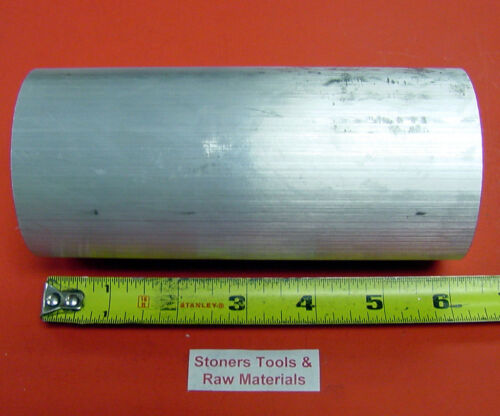 "2-3/4"" ALUMINUM 6061 T6511 SOLID ROUND ROD 6"" long LATHE BAR STOCK 2.75"" OD x 6"""