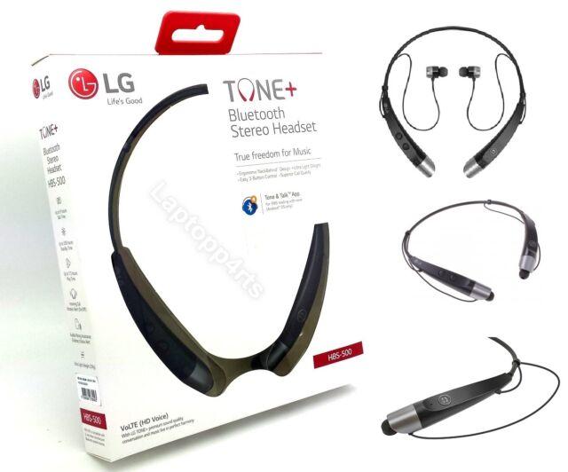 Genuine LG G5 Tone Plus HBS-500 Bluetooth Wireless Streo Headphones Headset  G4