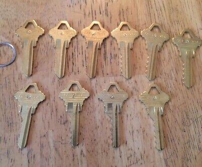 Schlage Depth Keys 0-9 Sc1 5 Pin