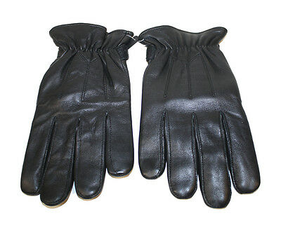 Mens Genuine Lambskin Leather Winter Driving Motorcycle Glove 106 Free Shipping