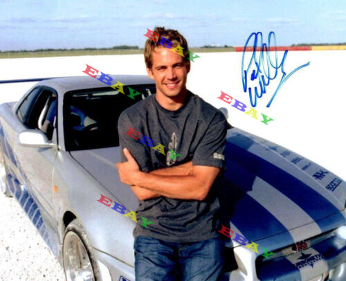 Paul Walker Fast & Furious Autographed Signed 8x10 Photo Reprint