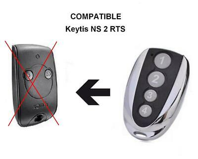 Télécommande compatible SOMFY KEYTIS-NS-2-RTS