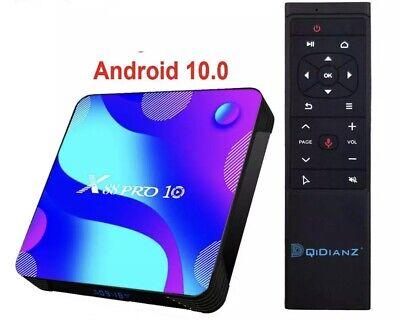 X88 Pro X10  Boitier Androïd 10 TV Box,2GB RAM 16Go ROM IP TV Smart Box Androïde