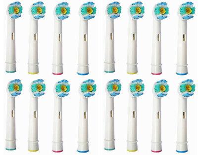 16x Ersatzzahnbürsten für Oral B 3D White Pro Bright Aufsteckbürsten