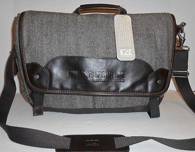 - Cutter & Buck Brown Herringbone Messenger Bag Journey Of A Lifetime