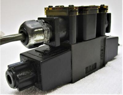Parker D1vw20dnyc5 72 Hydraulic Solenoid Valve 2 Seiki