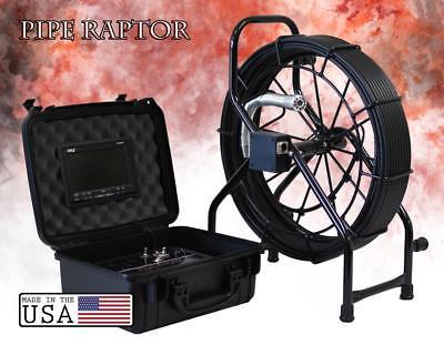 150 Color Sewer Camera 512hz Sonde Video Pipe Inspection System Pipe Raptor Gls