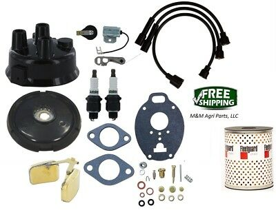 John Deere 320 330 40 420 430 M Mt 2 Cylinder Tractor Tune Up Carburetor Kit