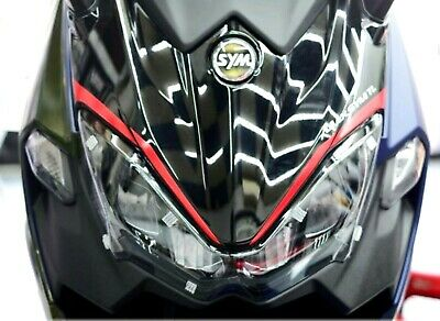 SYM MAXSYM TL500 ABS FRONT REFLECTIVE STRIPES DECALS