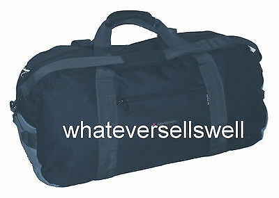 30 Ltr Cargo Bag Holdall Gym Sports Travel Black