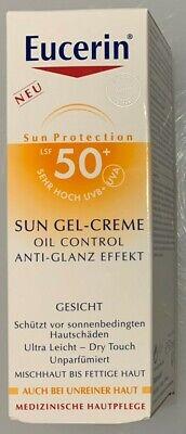 EUCERIN LSF 50 Sun Gel-Creme Oil Control Anti-Glanz Effekt, 50ml, PZN 10832664