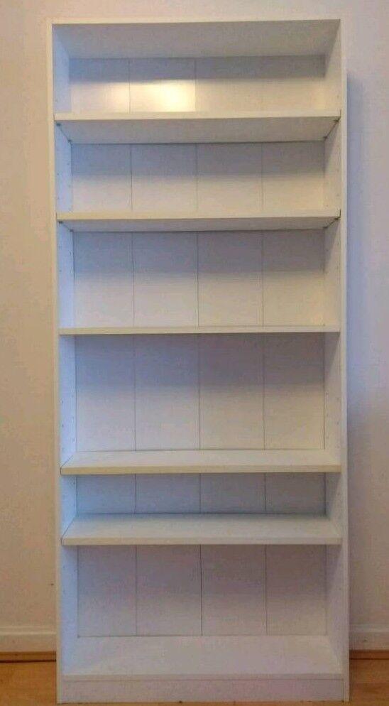 Ikea Book Shelf In White Color Used Furniture