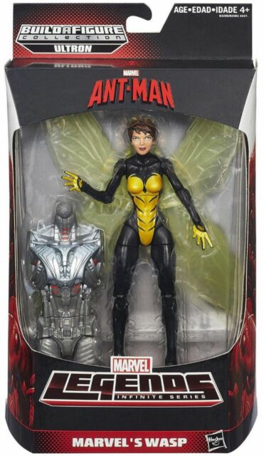 MARVEL LEGENDS ANT-MAN SERIES WASP FIGURE BAF ULTRON
