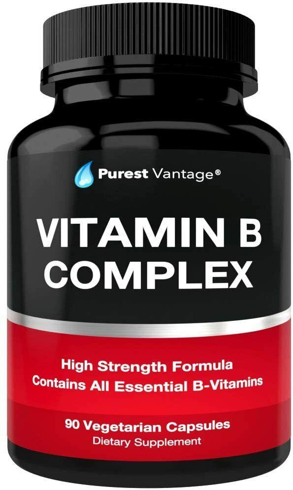 Mejores vitamina complex complejo vitamina b12 b1 b2 b3 b5 b6 b7 b9