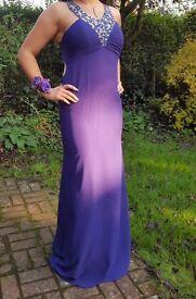 Purple(regency) formal dress Size 12