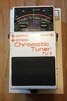Boss TU-2 Chromatic Tuner Guitar Effects Pedal