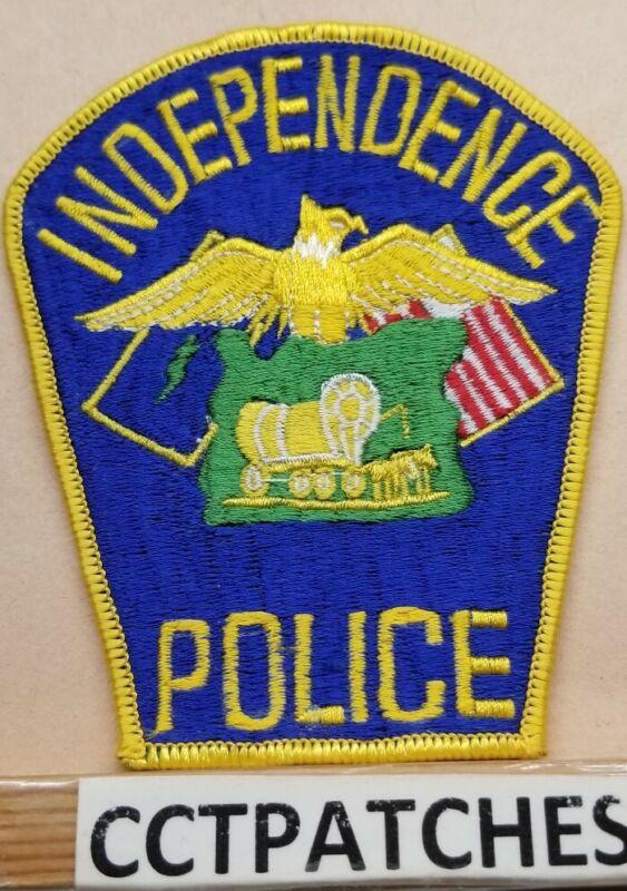 INDEPENDENCE, OREGON POLICE SHOULDER PATCH OR