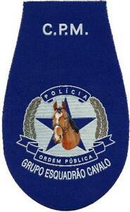 Parche-de-policia-de-Angola-montado-caballos-Unity-Caballeria-EB00758