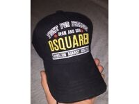DSQUARED brand new D2 designer cap with tags black hat