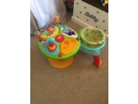 babys bright start activity centre.