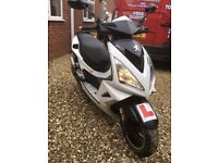 2014 Peugeot Speedfight 3 50cc scooter Moped