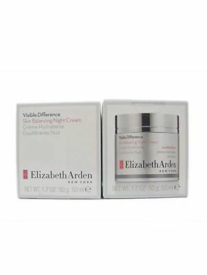 Elizabeth Arden Visible Difference Skin Balancing Night Cream Combination 1 7Oz