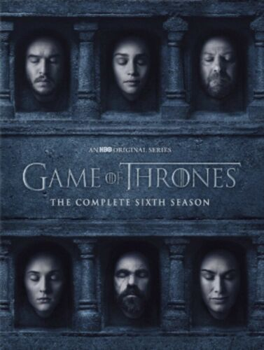 Game of Thrones: The Complete Sixth Season 6 (DVD, 2016)