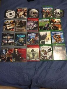 Selling some ps3 Xbox 360 and Xbox one games
