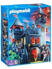 Playmobil Rock Castle toy set