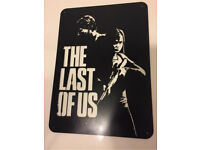 The last of us metal sign