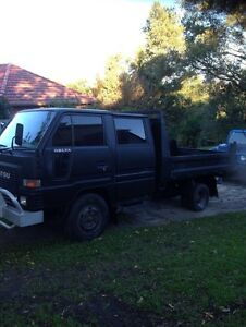 Dual cab tipper Diahatsu delta Duffys Forest Warringah Area Preview