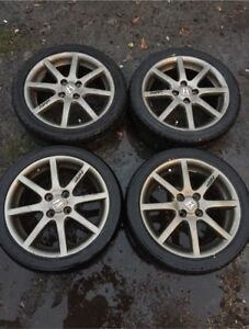 4 After Market Low Profile Honda Rims