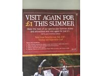 Cheap Warwick Castle Tickets for school Holidays