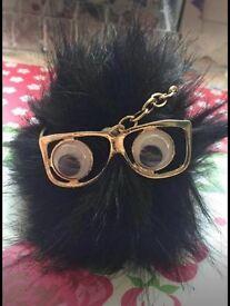 New black handbag Pom Pom charm (can post)