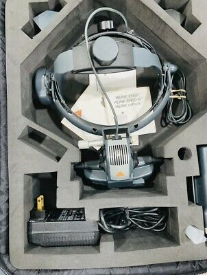 Heine Omega 500 Binocular Indirect Ophthalmoscope Wired With Casempack.