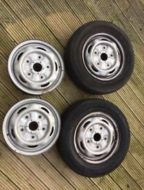 Ford Transit steel wheels 15inch fits 2000-2014 Models Mk6 Mk7