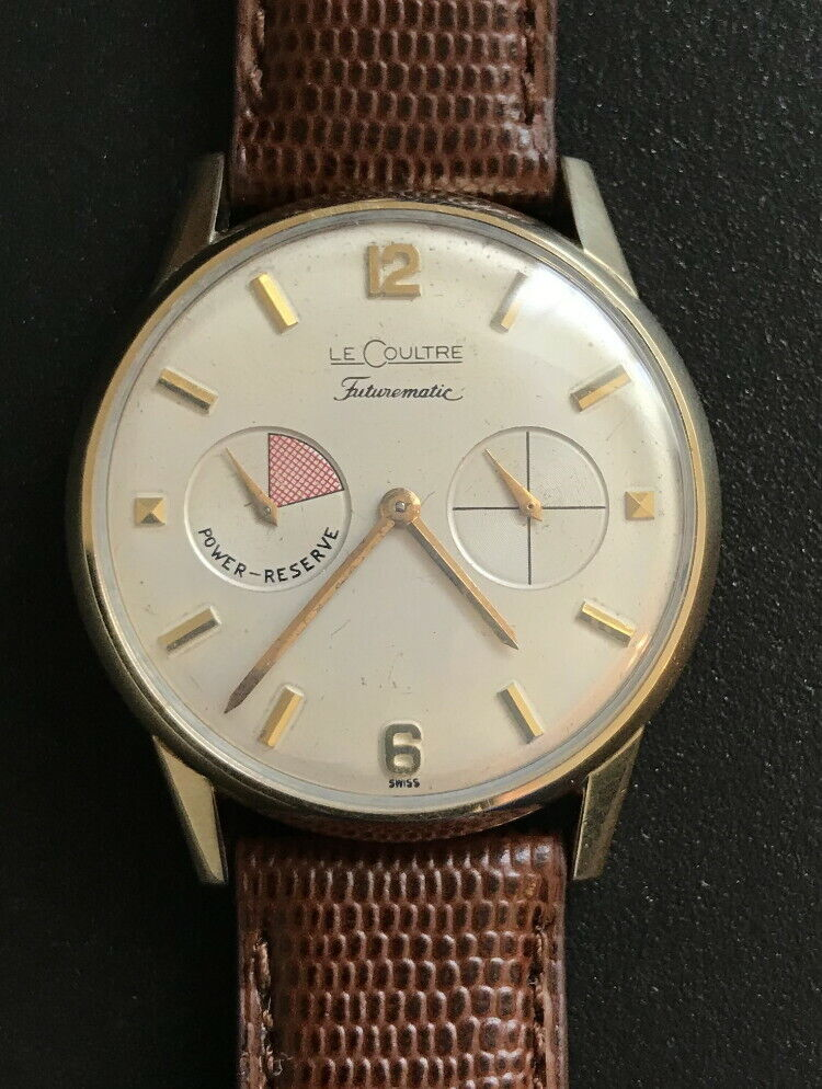 Vintage Mint 10KGF Jaeger LeCoultre Futurematic Wristwatch- Working!