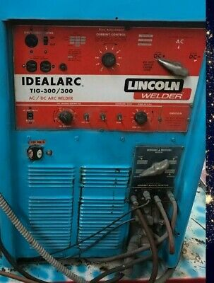 Lincoln Idealarc Acdc Arc Tig Welder 300300