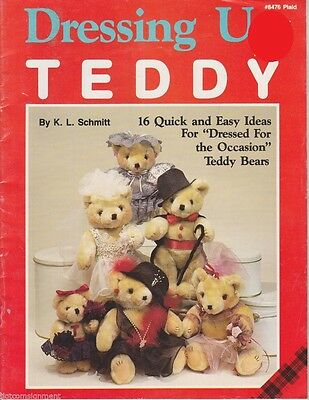 Plaid #8476 Dressing Up Teddy 16 Quick & Easy Ideas for Dressing Up Teddy Bears](Ideas For Dressing Up)