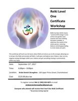 Reiki Certification - Level One