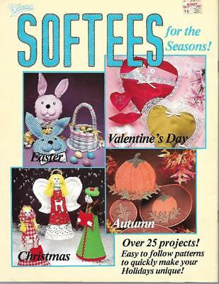 Taurus SOFTEES for the Seasons 25+ Projects to Make Fall Christmas Easter & More (Fall Craft Projects)