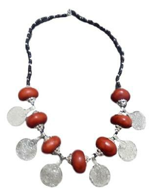 Handmade  African Berber Moroccan Amber Necklace