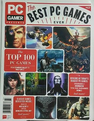 PC Gamer Presents The Best PC Games Ever 2017 The Top 100 FREE SHIPPING (The Best Gaming Pc Ever)