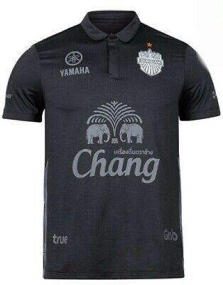 OFFICIAL BURIRAM UNITED THAILAND 2020 THIRD BLACK FOOTBALL/SOCCER JERSEY Size M image