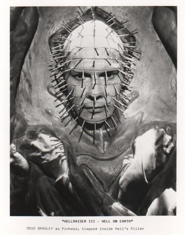 Hellraiser III - photo print - Pinhead, Doug Bradley, Hellraiser