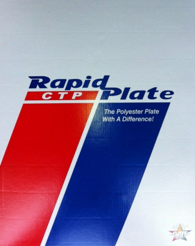 """Polyester plates / Laser Plates 11"""" x 18""""  Rapid Plate"""